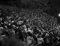 The audience at the Utah Symphony and Mormon Tabernacle Choir's Bicentennial Concert June 11, 1976, at Zion park amphitheater in (4e15d673373b4092a48f886c826ccd2c).tif