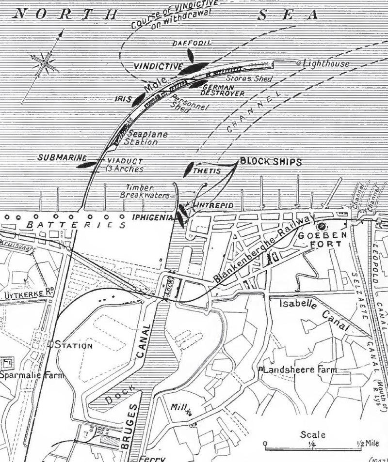 Bloqueo de Zeebrugge abril 1918