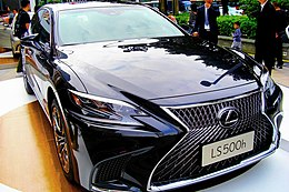 "The frontview of Lexus LS500h ""EXECUTIVE"" CN-Spec in Tianhe 50.jpg"
