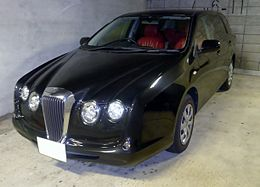 The frontview of Mitsuoka NOUERA 6-02 Wagon.JPG