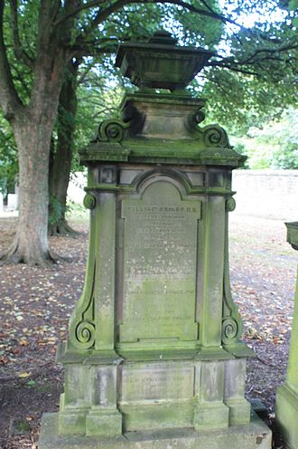 William Beilby (physician) - The grave of Dr William Beilby, Warriston Cemetery