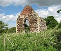 The ruined St Michael's church - west wall - geograph.org.uk - 1322477.jpg