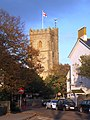 The tower of Sidmouth parish church-geograph-3725519.jpg
