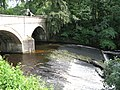 The weir below Allenmill Bridge - geograph.org.uk - 526699.jpg