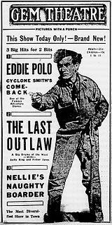 <i>The Last Outlaw</i> (1919 film) 1919 film