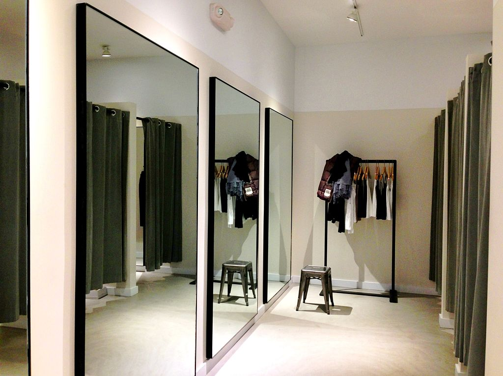 File Theory Clothing Retailer Dressing Room Westport