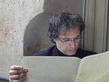 Description de l'image Thierry Escaich compositeur et organiste.jpg.