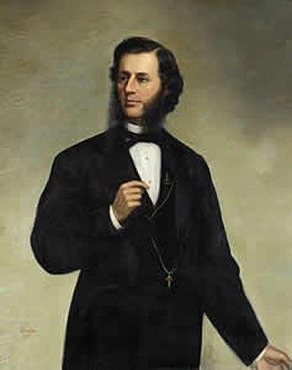 Thomas A. Doyle (mayor) - Official portrait of Thomas A. Doyle in Providence City Hall