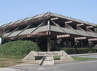Thomas Guide - The former Thomas Bros. building, 17731 Cowan, Irvine, CA.