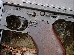 Trigger (firearms) - Thompson submachine gun trigger
