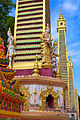 Thousands of Buddhas on each tower at Thanboddhay Paya (5089830847).jpg