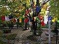 Tibetan prayer flags, Norbulingka Gardens, Norbulingka Institute, Sidhpur, Dharamsala.jpg