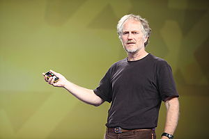 English: Tim O'Reilly at the PayPal X Innovate...