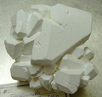 Tincalconite - Image: Tincalconite byu