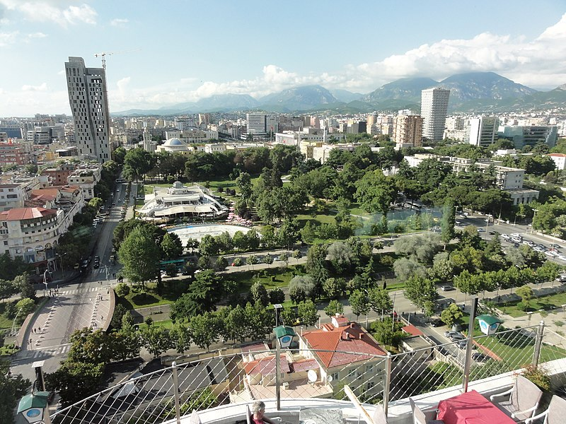 File:Tirana from Above 2016.jpg