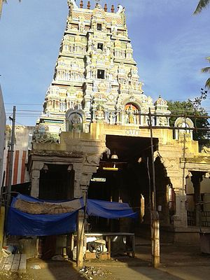 Thirumohoor Kalamegaperumal temple - Kalamegaperumal