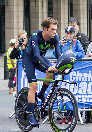 Alex Dowsett - Dowsett at the 2014 Tour of Britain