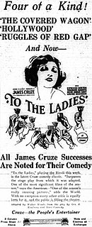 <i>To the Ladies</i> 1923 film by James Cruze