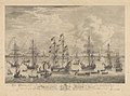 To their Graces - This Representation of the Embarkation of her Majesty Queen Charlotte at Stade; with a view of the Royal Yachts &c.&c, Sept 6th 1761 RMG PY8613.jpg