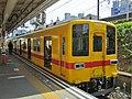 Tobu 8000 series 8575 at Kameido Station.jpg