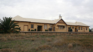 Tocumwal railway station