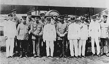 Group formed by Japanese officers and French officers