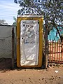 Toilet, Soweto (emptied by tanker) (2941730454).jpg