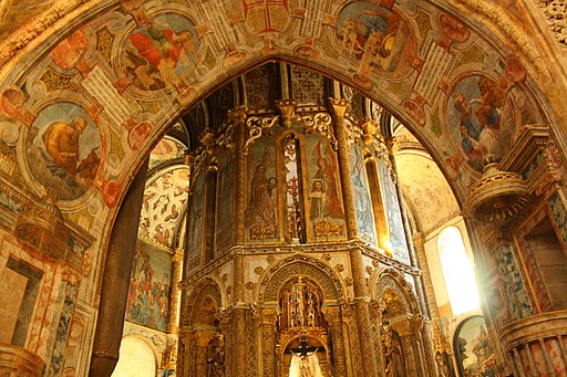 Christus-Kloster in Tomar (UNESCO-Welterbe in Portugal)