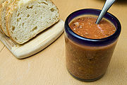 Simple tomato chutney