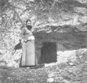 Hillel the Elder - Hillel's tomb, circa 1900