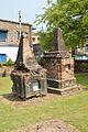Tombs Of Bonham Brook Faunce 1808-1840 And GC Lonsdale - Died 1835-06-06 - Dutch Cemetery - Chinsurah - Hooghly 2017-05-14 8474.JPG
