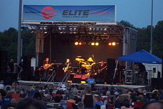 Tommy James and the Shondells - The 2000s edition of Tommy James and the Shondells play a 2010 free outdoor concert in Manalapan Township, New Jersey