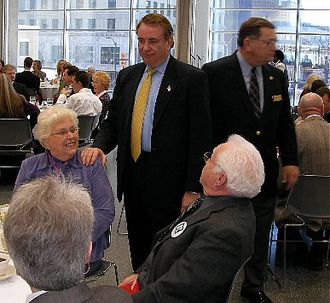 Tommy Thompson 2008 presidential campaign - Thompson visits Des Moines in February 2007