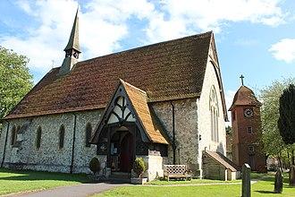 Tongham - Image: Tongham Church