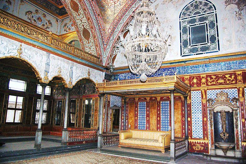 File:Topkapi Palace Istanbul - Imperial Hall.jpg