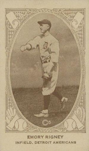 Topper Rigney - Image: Topper Rigney baseball card