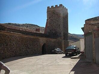 Bádenas - Image: Torre Iglesia