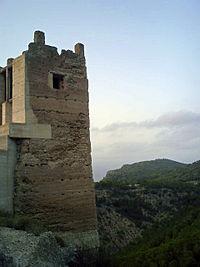 Torre del castillo de Pliego (Murcia).jpg