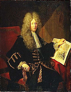 Louis Phélypeaux, comte de Pontchartrain - Portrait of Louis Phélypeaux's son and successor Jérôme Phélypeaux, also known as the comte de Pontchartrain, by Robert Tournières