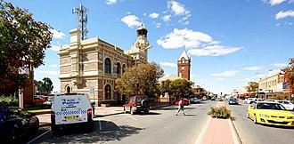 Broken Hill - Broken Hill Town Hall and Post Office