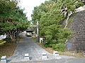 Toyoma teraike castle gate.JPG