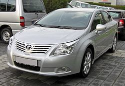 Px Toyota Avensis Iii Front
