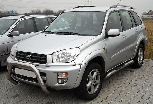 Toyota RAV4 front 20080112