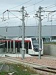 Tram at Edinburgh Airport station (geograph 3676801).jpg