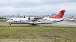 TransAsia Airways ATR 72-212A B-22817 Departing from Taipei Songshan Airport 20150321d.jpg