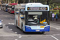 Transport NSW liveried (2611 ST), operated by Sydney Buses, Bustech VST bodied Scania K280UB on Loftus Street in Circular Quay.jpg