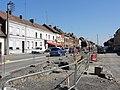 Travaux de la branche vers Vieux-Condé de la ligne B du tramway de Valenciennes en mai 2012 (042).JPG