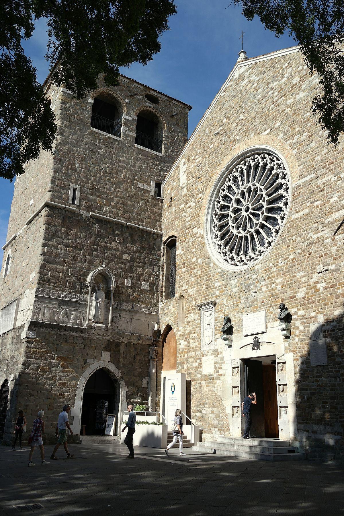 La Campana Di San Giusto.Cattedrale Di San Giusto Trieste Wikipedia