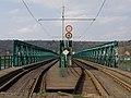 Trojský tramvajový most, holešovický konec.jpg