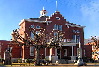 Trousdale County, Tennessee - Image: Trousdale county courthouse tn 1